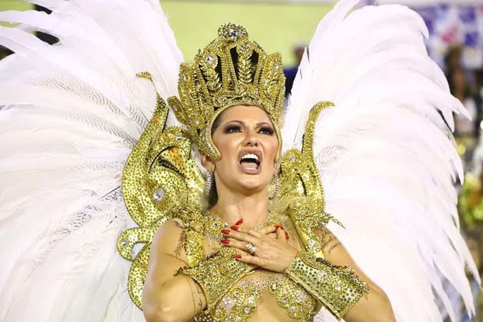 Antônia Fontenelle se despede do Carnaval: 'Se eu voltar, vai ser para ser tema da escola!'