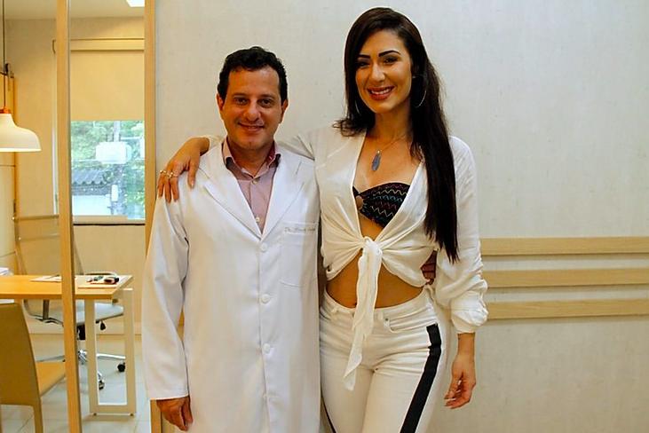 Beldades recorrem a médico das celebridades, Dr. Cláudio Ambrósio