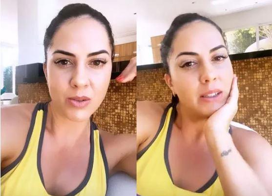 """Noiva de Zezé di Camargo reclama de Coronavirus  """"quatro meses sem entrar dinheiro"""""""