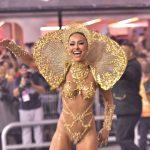 Jurado criterioso! Gaviões perde nota em desfile por problemas na fantasia de Sabrina Sato