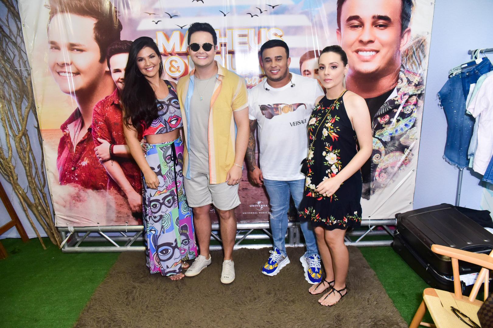 Matheus e Kauan gravam novo DVD com a presença da família em Recife
