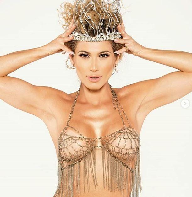 """Lívia Andrade """"entrega a coroa"""" e está fora do carnaval carioca (até então)"""
