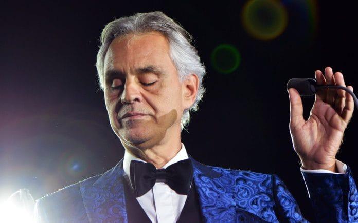 Andrea Bocelli fará concerto de Páscoa na Catedral de Milão vazia
