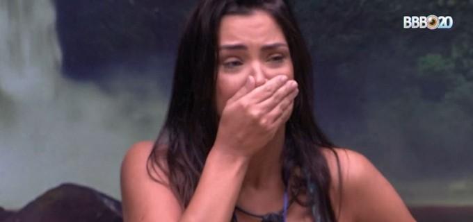 Ivy é eliminada do BBB20 a uma semana da final