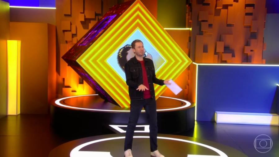 """Tiago Leifert dança Dua Lipa ao vivo e pede """"Não façam memes"""""""