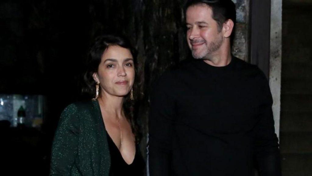 Murilo com a namorada Manuela Dias