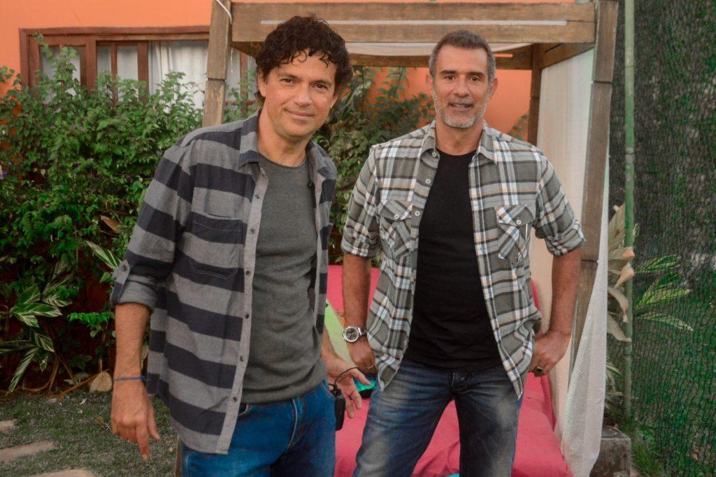 Jorge Vercillo e Marcos Pasquim
