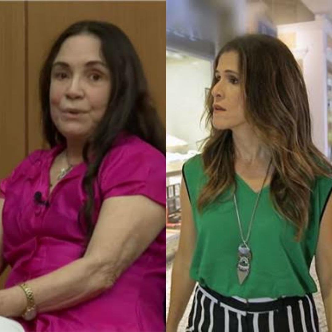 Ingrid Guimarães comenta trabalho de Regina Duarte: 'Temo pelo nosso futuro'