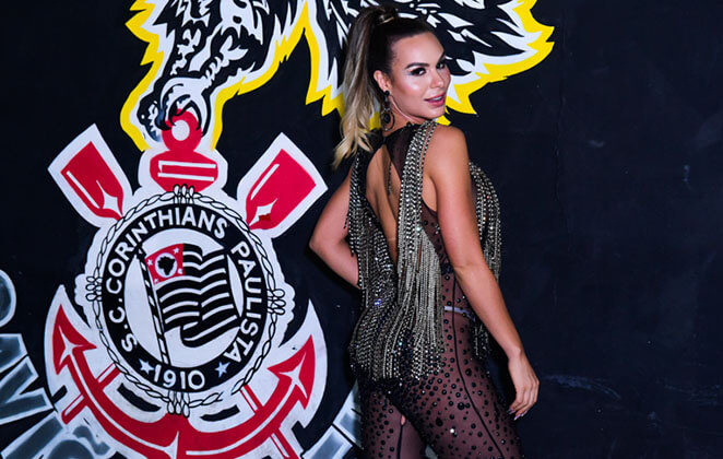Fernanda Lacerda na Gaviões