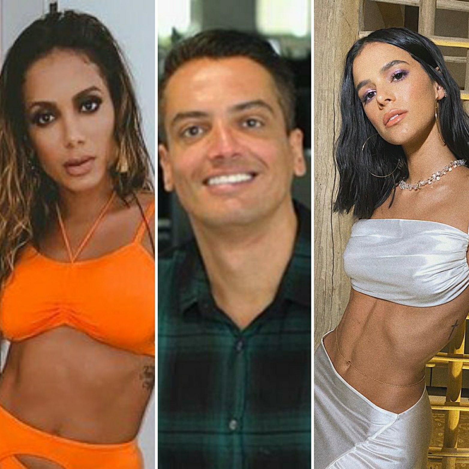Leo Dias revela que Anitta o chantageou  para atacar Bruna Marquezine