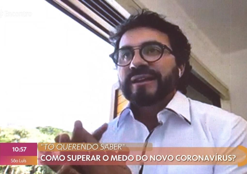 Padre Fábio de Melo chora no Encontro