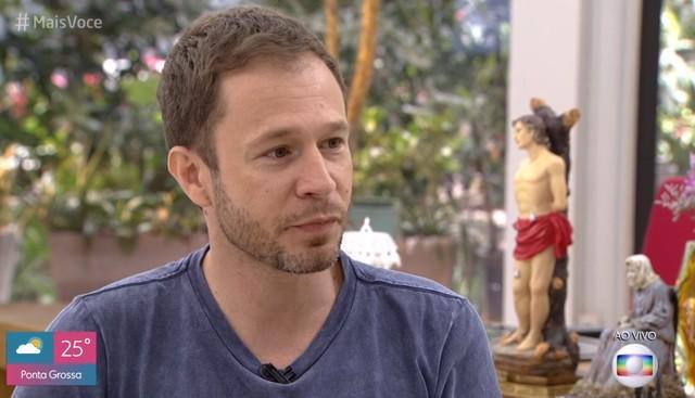 Tiago Leifert explica porquê escondeu gravidez