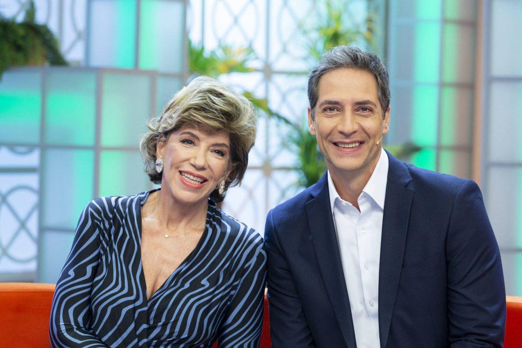 Silvia Poppovic e Luis Ernesto Lacombe