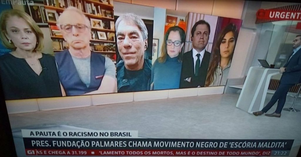 Globonews é criticada por racismo
