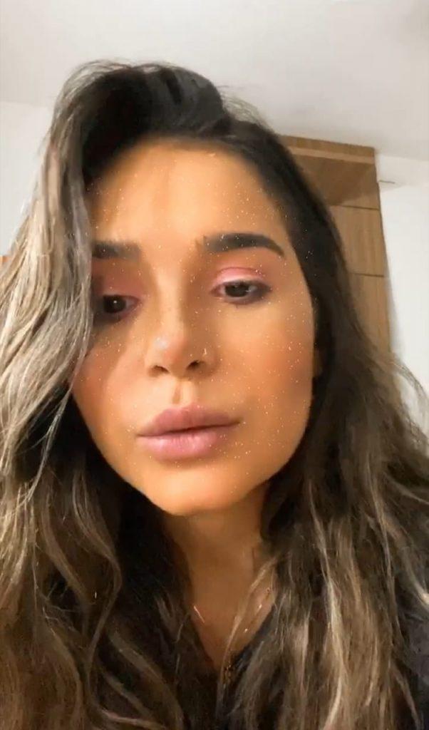 Gizelly Bicalho comenta recuperação de cirurgia para retirada do siso