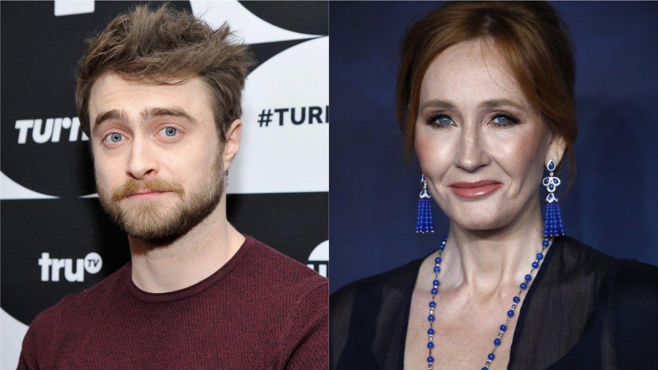 Daniel Radcliffe responde comentários de J.K. Rowling 'Mulheres trans são mulheres'