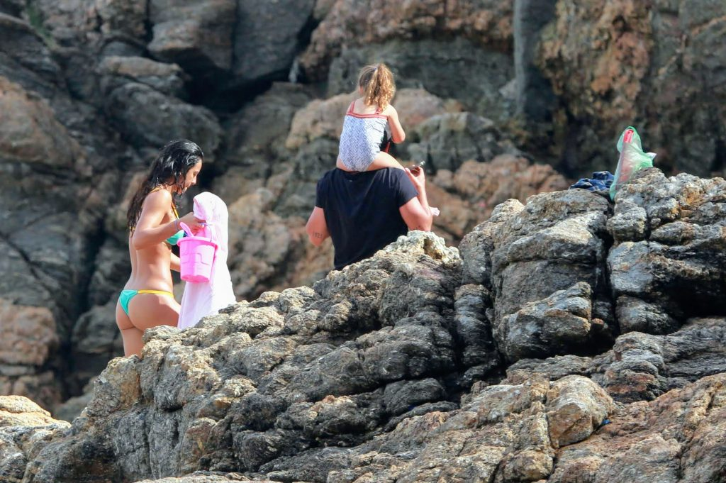 Bruno, Yanna e filha