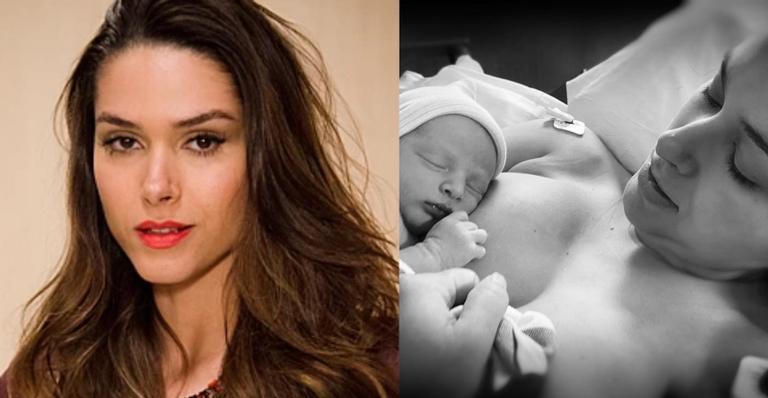 """Fernanda Machado fala sobre parto do segundo filho """"Muito difícil"""""""