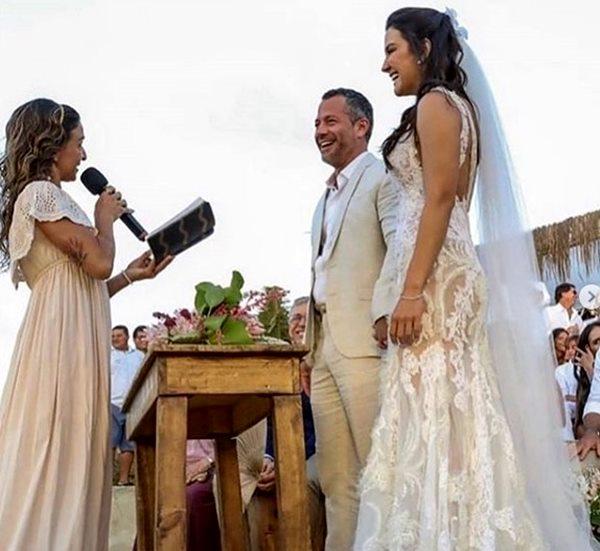 Casamento Malvino Salvador e Kyra Gracie