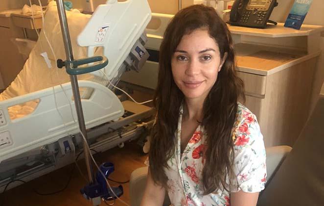 Maria Melilo comemora cura da COVID: 'Venci uma guerra!'