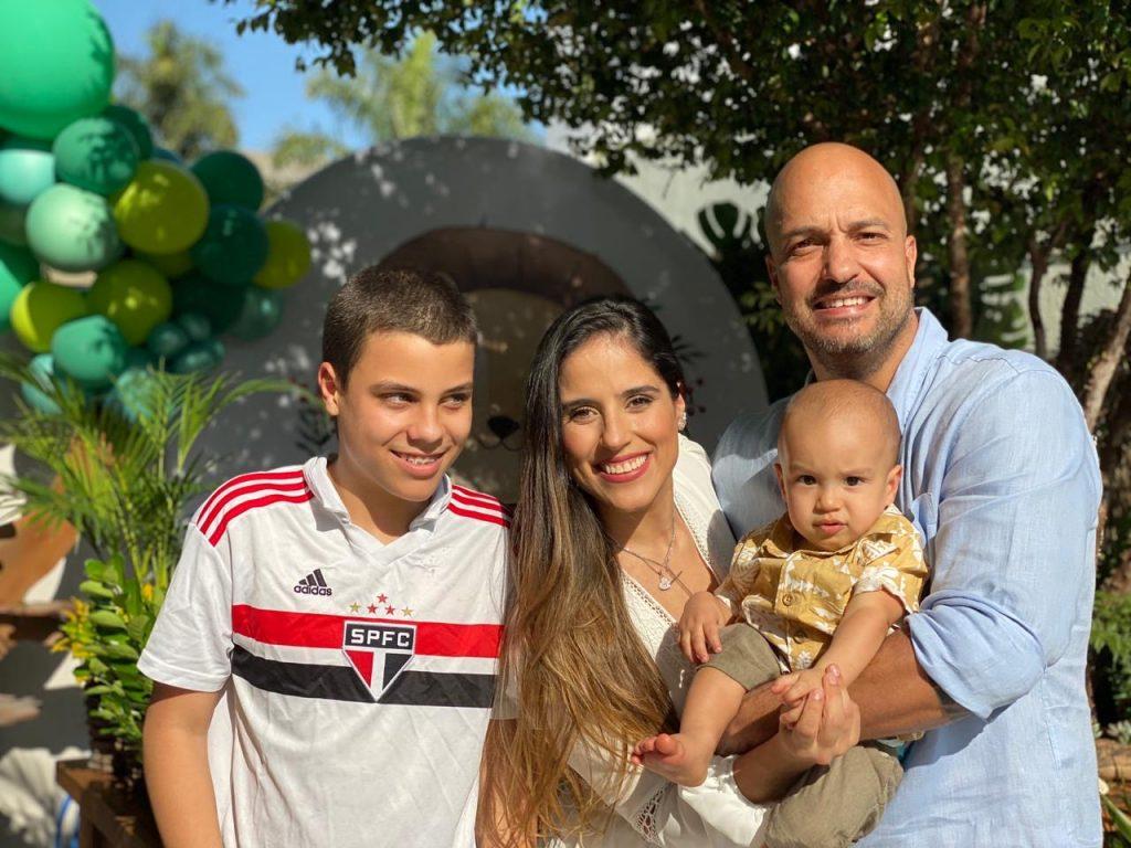 Joaquim Camargo Lessa comemora 1 ano de vida