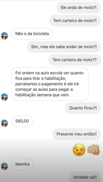 Conversa Titto e fã