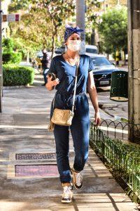 Lívia Andrade madruga para ir a salão de beleza em São Paulo