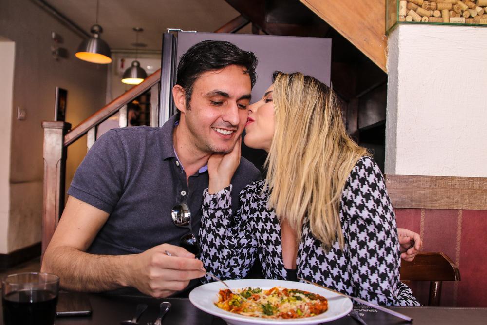Ana Paula Minerato e Wesley Santesso tem tarde romantica