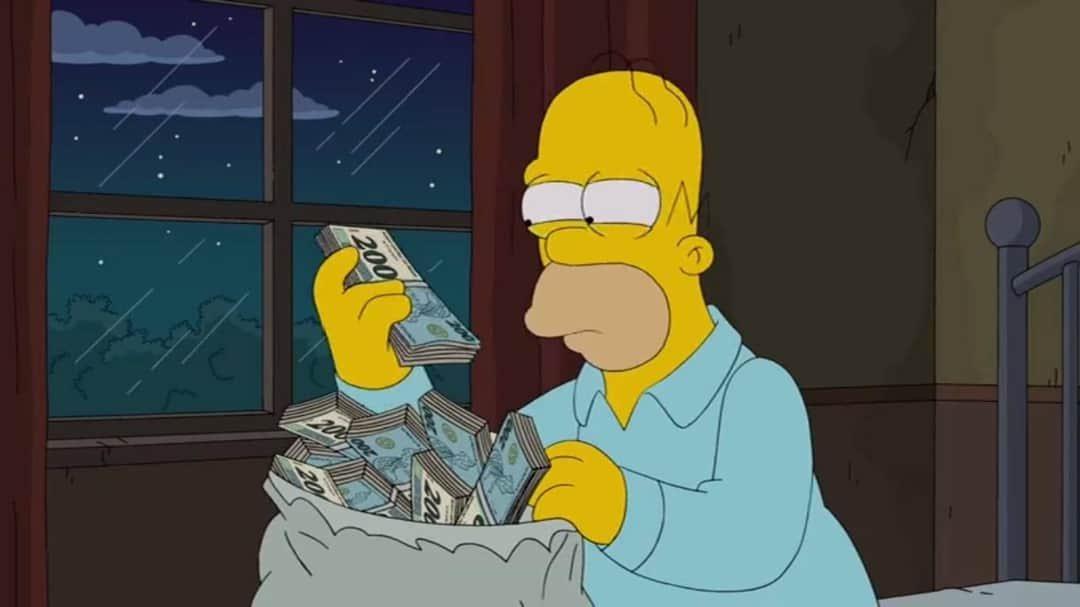 Os Simpsons previu a nota de R$200 em 2014