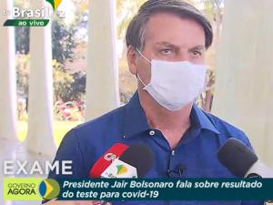 Jair Bolsonaro foi diagnosticado com COVID-19