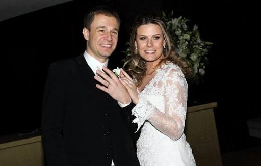 Tiago e Daiana se casaram em 2012