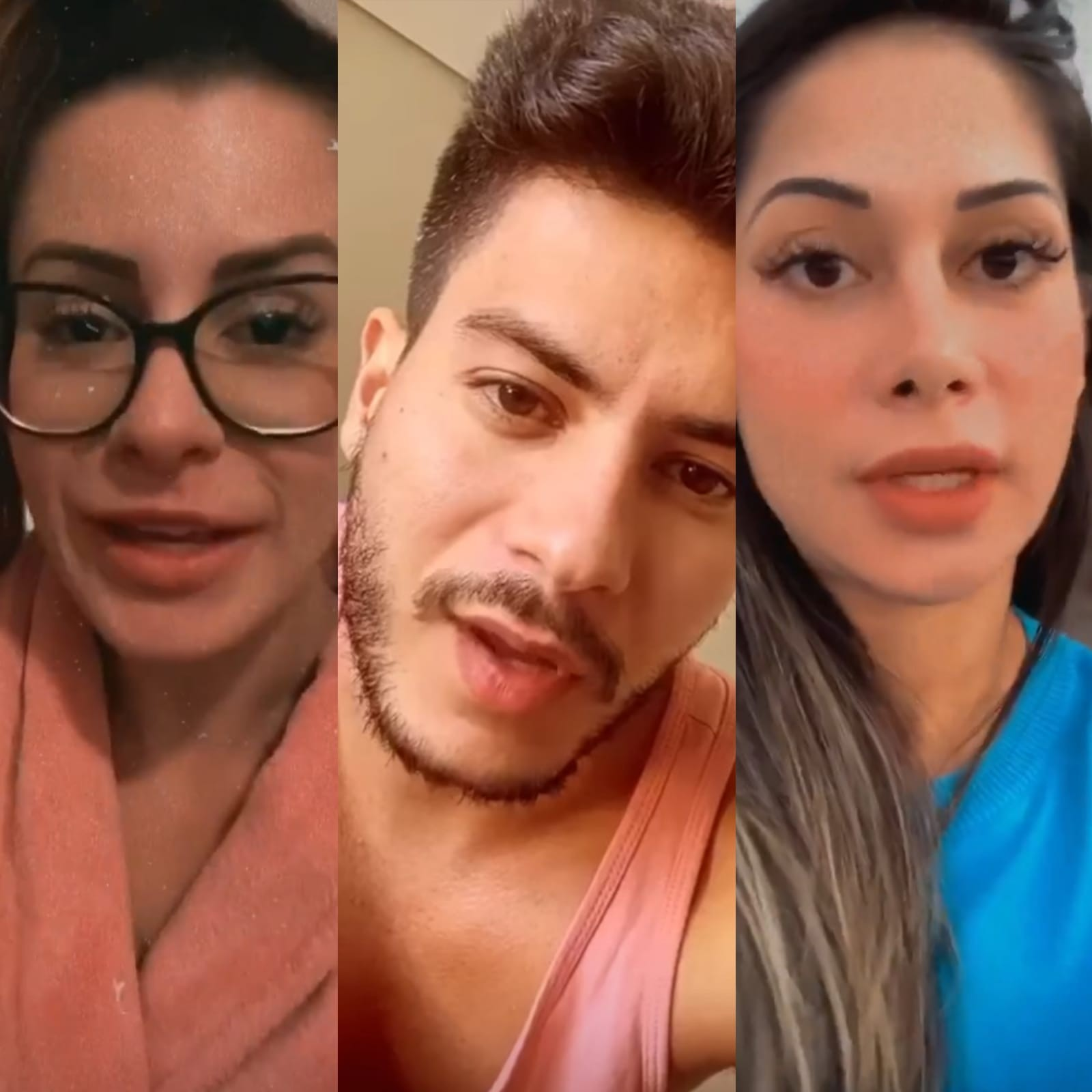 Mayra Cardi expõe provas de que Arícia Silva namorou Arthur Aguiar