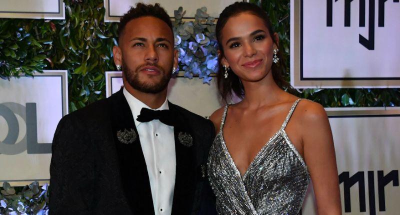 Bruna e Neymar - Foto Agnews