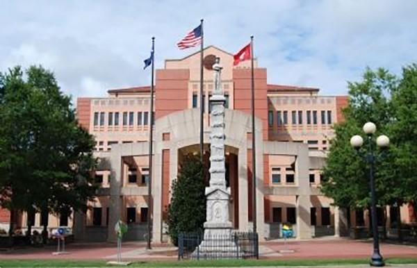 Monumento dos confederados em Anderson