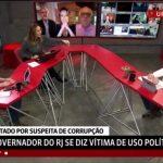 Celular de Maria Beltrão toca ao vivo na GloboNews