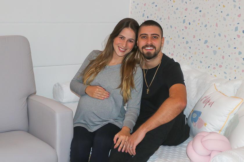 Chegou! Eike Duarte é papai pela primeira vez