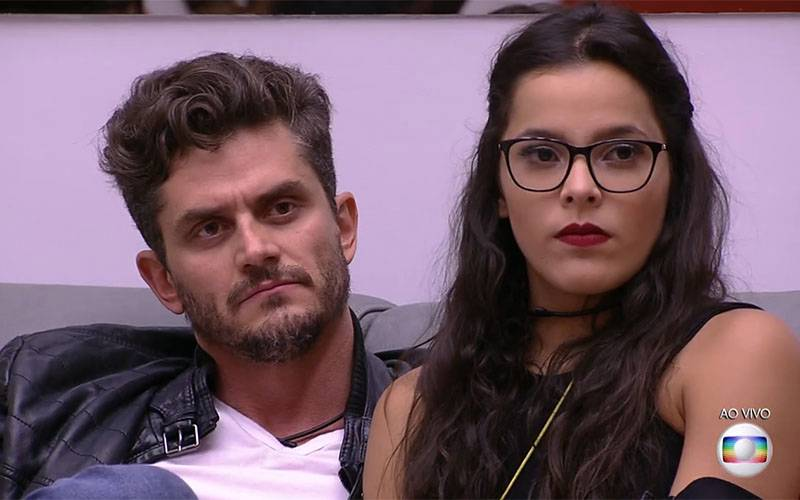 Marcos e Emilly no BBB 17