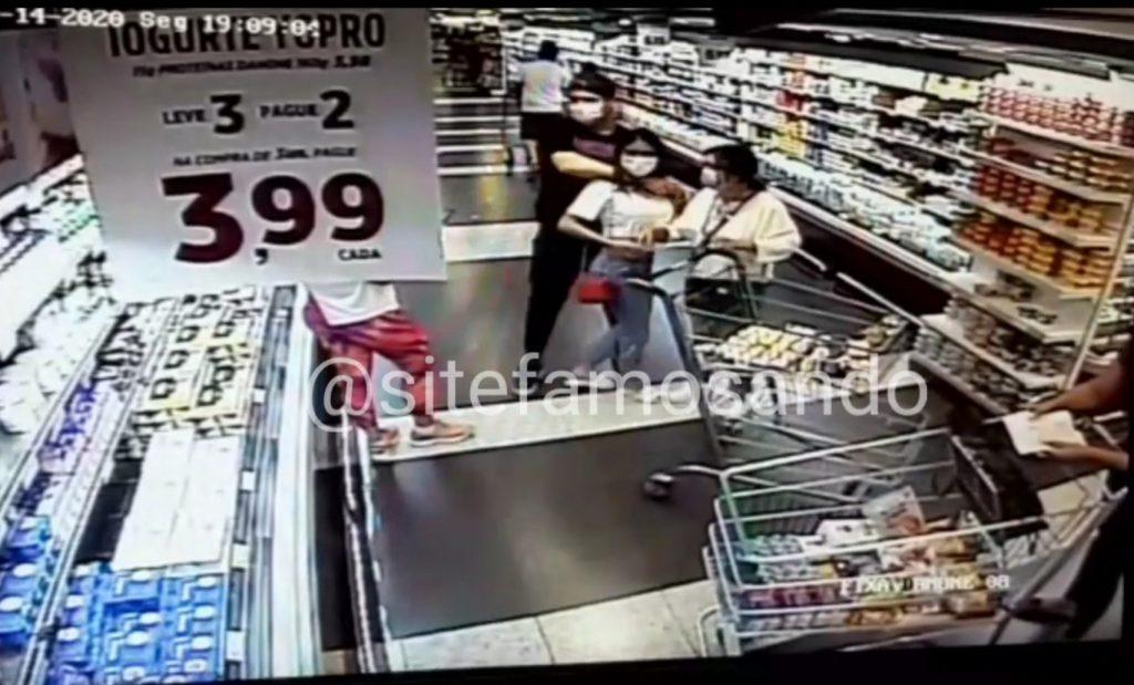 Bomba! Vaza vídeo do barraco entre Munik Nunes e ex de jogador Dudu