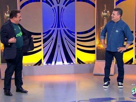 Ratinho comenta jogo da Libertadores no SBT e vira piada na web