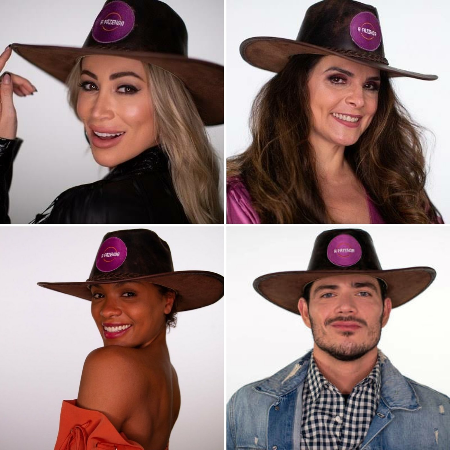 A Fazenda: Narizinho, Luiza, Lidi e JP estão na roça