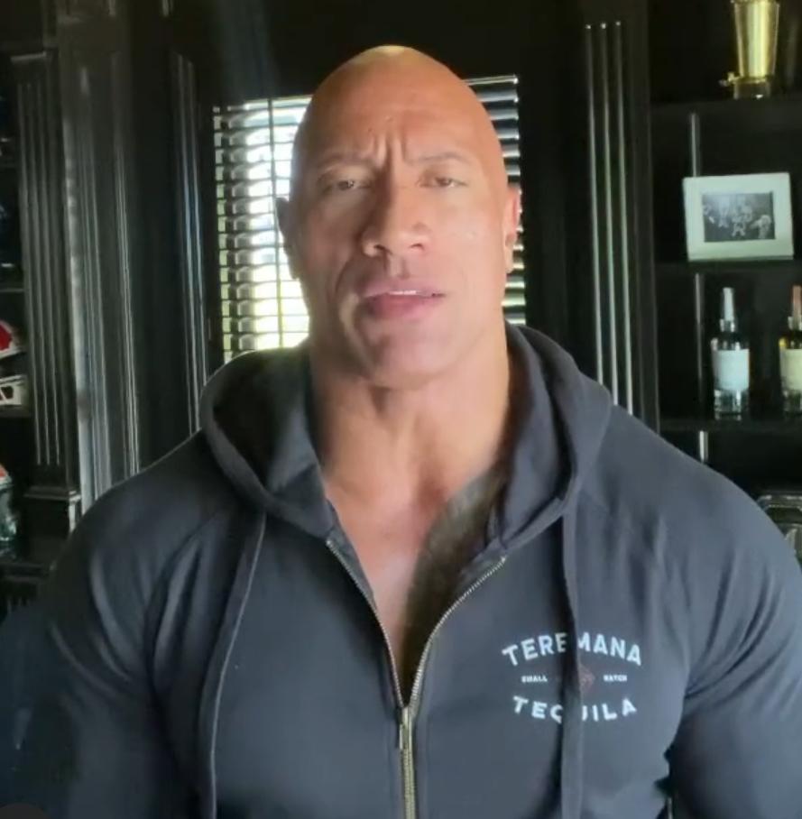 The Rock revela ter testado positivo para Covid 19