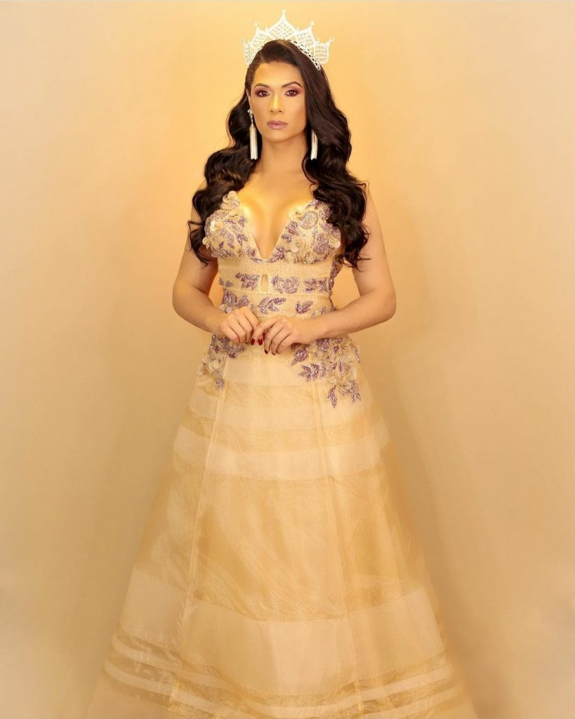 Rayka é a primeira mulher trans no Miss Brasil