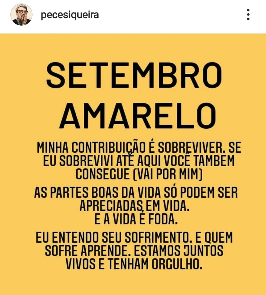 Após acusações de pedofilia, PC Siqueira retorna as redes sociais para falar de suicídio