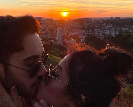 Diogo Melim se declara para nova namorada e causa na web