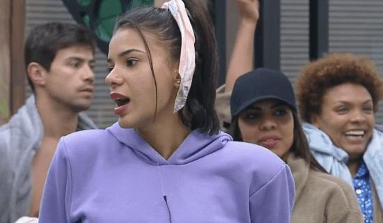 Lidi Lisboa comemora punição em A Fazenda: 'Não como carne'