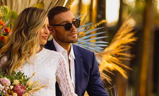 Lucas Lucco se casa em cerimônia discreta