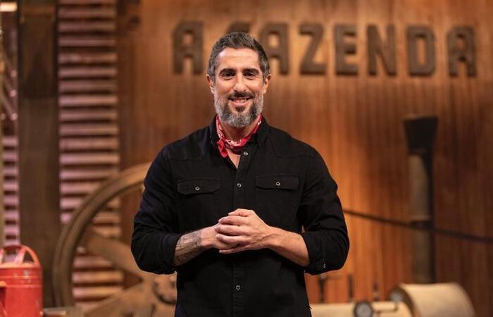Marcos Mion comenta rotina nos bastidores de A Fazenda: 'Eu vivo isso!'