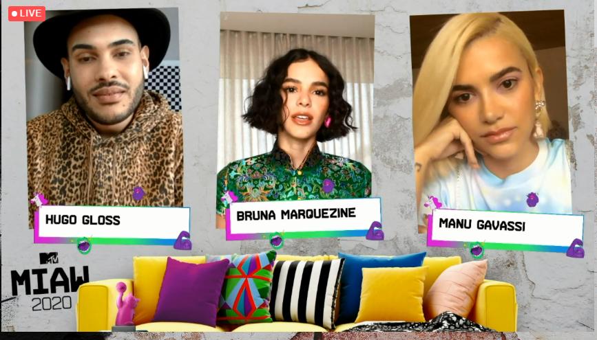 Sasha Meneghel estará no palco do MTV Miaw ao lado de Bruna Marquezine e Manu Gavassi