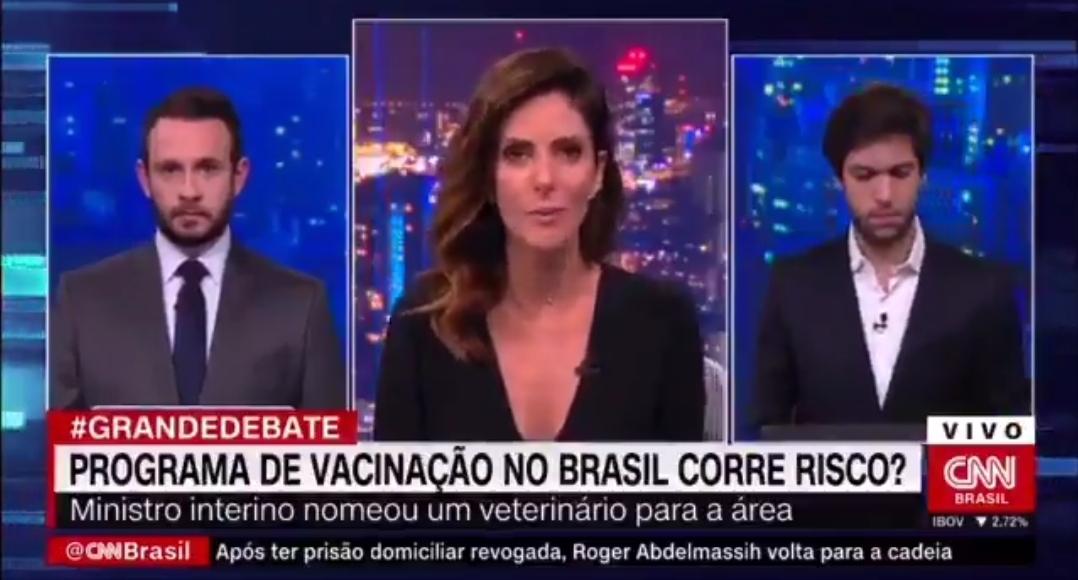 Monalisa Perrone ironiza Caio Copolla no Grande Debate