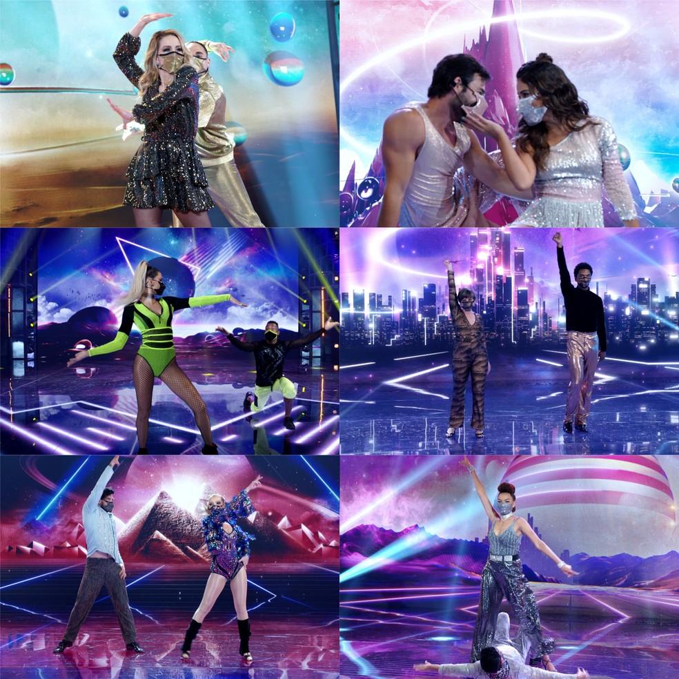 Confira como foi a estreia das mulheres na Dança dos Famosos